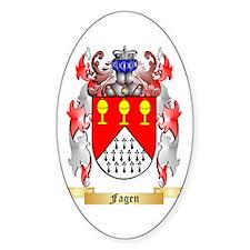 Fagen Sticker (Oval)