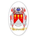 Fagen Sticker (Oval 50 pk)