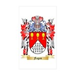 Fagan Sticker (Rectangle 50 pk)