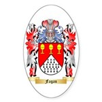 Fagan Sticker (Oval 10 pk)
