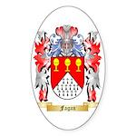 Fagan Sticker (Oval 50 pk)