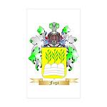 Faga Sticker (Rectangle 50 pk)