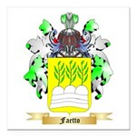 Faetto Square Car Magnet 3