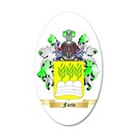 Faeto 35x21 Oval Wall Decal