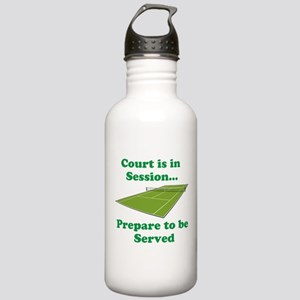 Court is in Session... Water Bottle