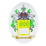 Faeta Ornament (Oval)