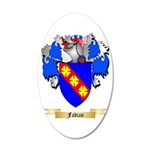 Fadian 20x12 Oval Wall Decal