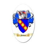 Fadian 35x21 Oval Wall Decal