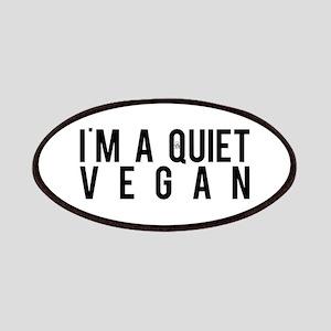 I'm A Quiet Vegan Patch