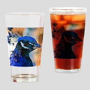 Blue Royal Drinking Glass