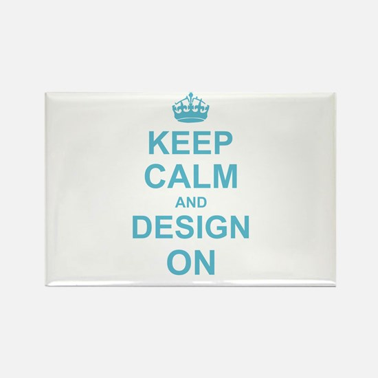 Keep Calm and Design on Magnets
