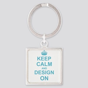 Keep Calm and Design on Keychains