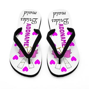 814b8068b2533 Wedding Flip Flops - CafePress