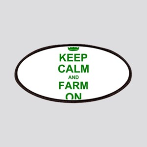 Keep calm and Farm on Patches