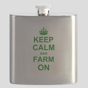 Keep calm and Farm on Flask