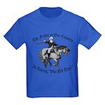 George Washington, Who Did This? Kids Dark T-Shirt