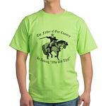 George Washington, Who Did This? Green T-Shirt