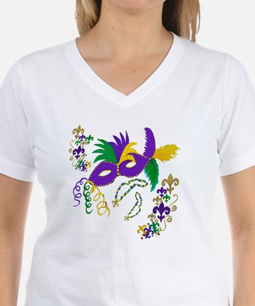 Mardi Gras Mask art Shirt