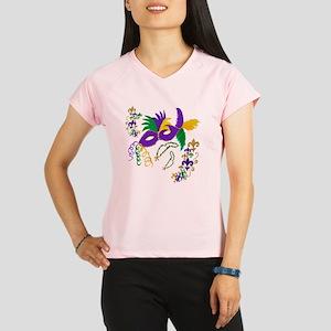 Mardi Gras Mask art Performance Dry T-Shirt