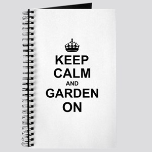 Keep Calm and Garden on Journal