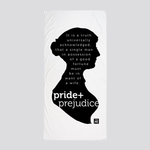 Pride and Prejudice-silo Beach Towel