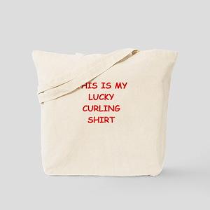 CURLING2 Tote Bag