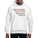 Peanut Butter and Spoon Hooded Sweatshirt