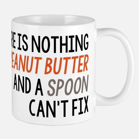 Peanut Butter and Spoon Mug