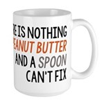 Peanut Butter and Spoon Large Mug