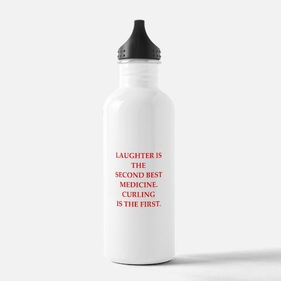 CURLING3 Water Bottle