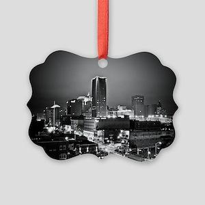 downtown OKC Picture Ornament