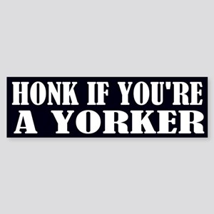Funny York Pennsylvania Bumper Sticker