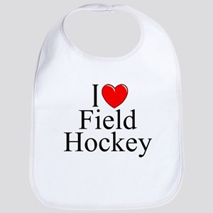 """I Love (Heart) Field Hockey"" Bib"