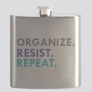ORGANIZE. RESIST. REPEAT. Flask