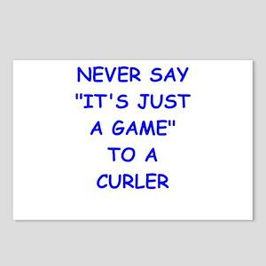 curler Postcards (Package of 8)
