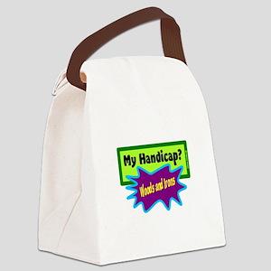 My Handicap?-Chris Codiroli Canvas Lunch Bag