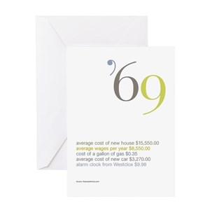 Born 1969 Greeting Cards