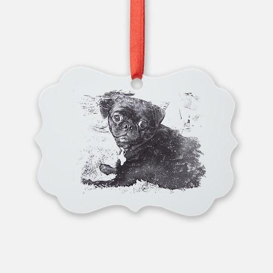 Perk sketch Ornament