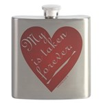 My Heart Is Taken Forever Flask