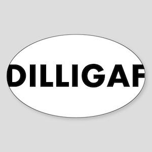 dilligafwhite10x3_stickerbumper Sticker