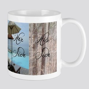 his her paradise Mugs