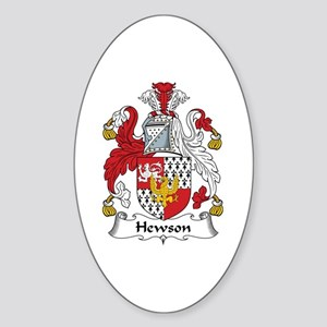 Hewson Oval Sticker