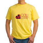 Cali Love #1 Yellow T-Shirt
