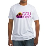 Cali Love #1 Fitted T-Shirt