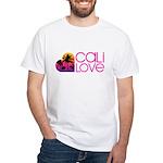Cali Love #1 White T-Shirt