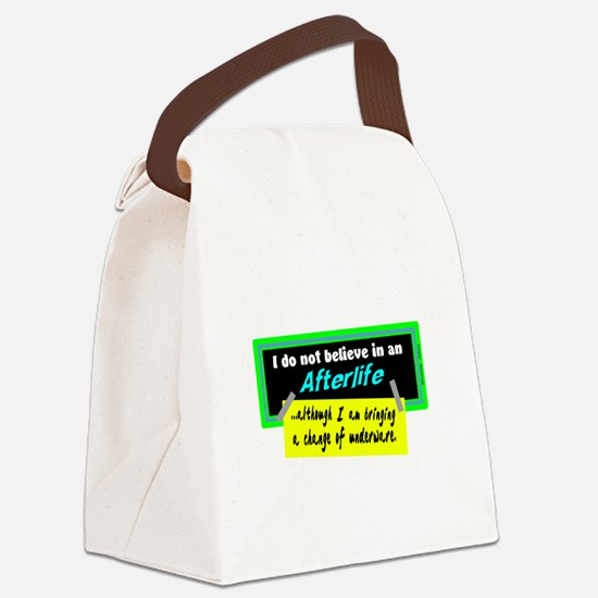 Change Of Underware/Woody Allen Canvas Lunch Bag