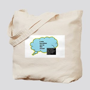 Backing Up In The Cloud Tote Bag