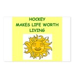 hockey Postcards (Package of 8)