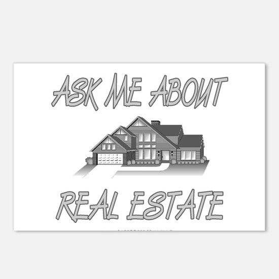 Ask About Real Estate Postcards (Package of 8)