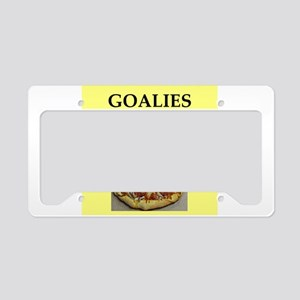 GOALIES License Plate Holder